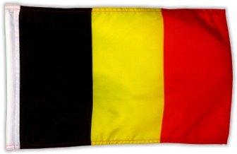 Fahne Flagge Belgien 30 x 45 cm