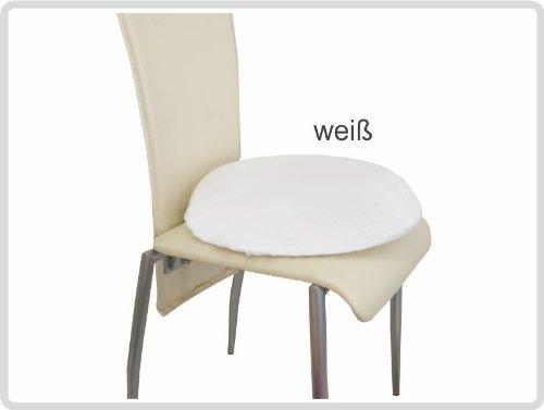 Latexkissen Sitzkissen Sit Ring Anti-Dekubitus-Sitzkissen rund, inkl. Frotteebezug, weiß
