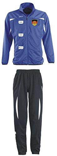 Aprom-Sports DDR Deutschland Trainingsanzug - Sportanzug - S-XXL - Fußball Fitness (L)