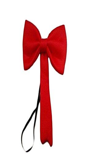 Lollipop clothing Kostüm Verrückt Katze groß rot Fliege elastisch Dr Seuss Kinder Welttag des Buches - Rot, One size