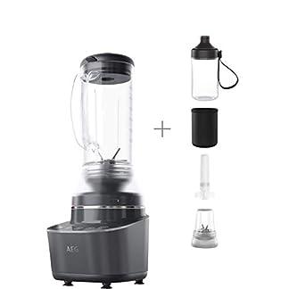 AEG-Gourmet-7-Kompaktmixer-CB7-1-8MTM-12-PS-2-Stufen-plus-2-Rezeptprogramme-06-l-Tritan-Krug-6-Klingen-Edelstahlmesser-Tasten-mit-LED-Hinterleuchtung-BPA-frei-grauschwarz
