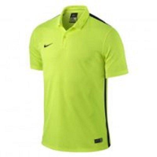 Nike Herren Jersey Challenge Trikot, Volt/Black, S - Torwart Trikot Kurzarm