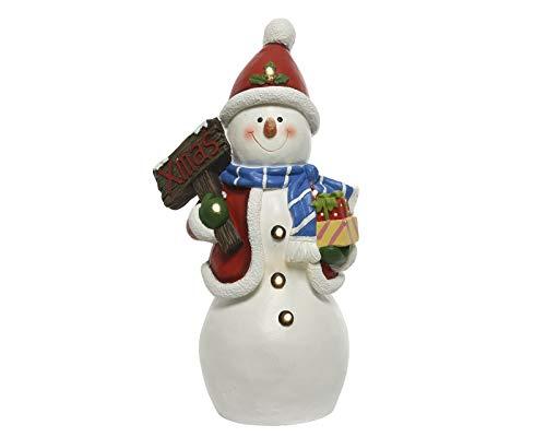 Unbekannt Schneemann mit LED-Beleuchtung -