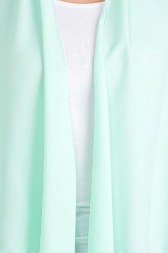 Basico - Manteau sans manche - Femme Taille Unique Menthe