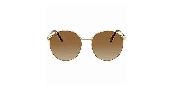 Gucci Damen Sonnenbrille GG0206SK 003, Gold (3/Brown), 58