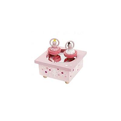 Trousselier Spinning Music Box Ballerina (Pink)