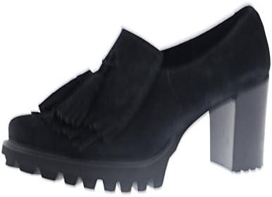 PEDRO MIRALLES Zapato Mocasín Tacón Negro 29459