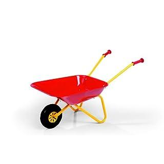 Robbie Toys S2627080 Franz Cutter Metal Wheelbarrow, Red