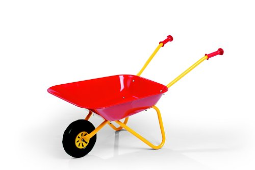Image of Rolly Metal Wheelbarrow (Red)