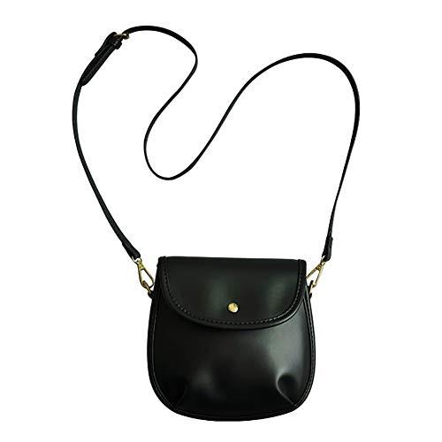 alpscale Koreanischen Stil einfarbig Klappe Umhängetaschen Mode einfache Frauen Messenger Bags -