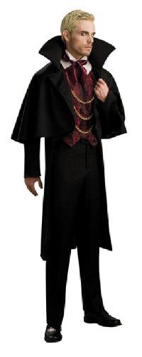 Halloween Herren Kostüm Vampir König als Blutsauger verkleiden STD