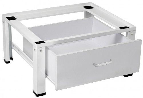 Untergestell für Waschmaschine / Trockner / Sockel Podest Erhöhung & Schublade