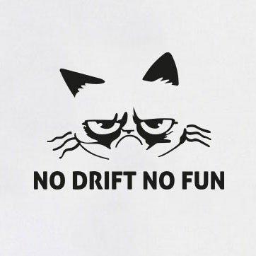 TEXLAB - No Drift No Fun - Stoffbeutel Natur ...