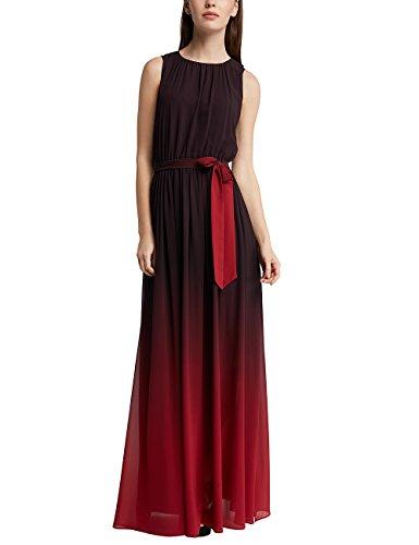 APART Fashion Damen Partykleid RED-Glencheck-Black-Cream-Grey-Glitter-SMOKYBLUE & Fake Leather Mehrfarbig, 40