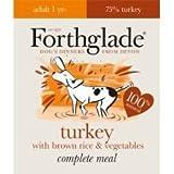 ForthgLADE Forthglade - Juego de 18 platos completos para adulto con arroz y verduras marrones 395 g