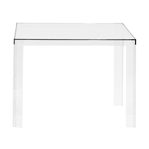 Kartell, Invisible, Tavolo, Trasparente, 100 x 100 x 72 cm