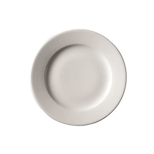 Genware NEV-160621 Royal Classic Winged Plate, 21 cm, White (Pack of 6)