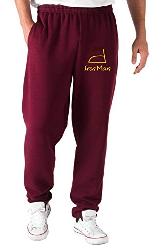 T-Shirtshock Jogginghose Rot DEC0063 DOMESTICO Iron Man