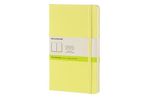Moleskine Citron Yellow Large Plain Notebook Hard por Moleskine