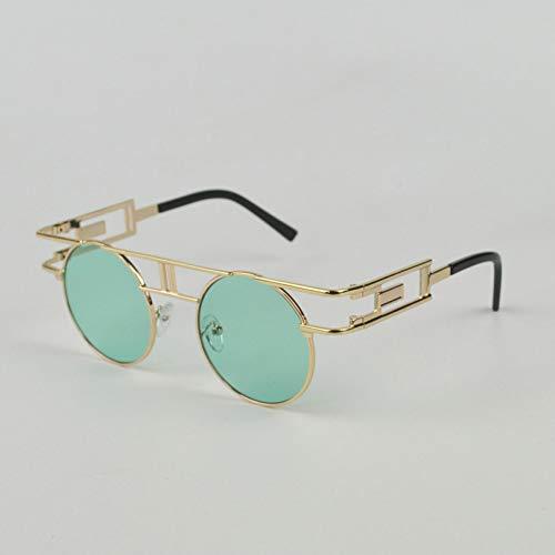 GBST Eyeglass Frame Male Literary Reading Glasses Metal Can Do Multi-Focus Reading Glasses Big Glasses,Green