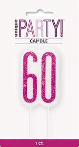 Unique Party- Vela, Color pink & silver (83896)