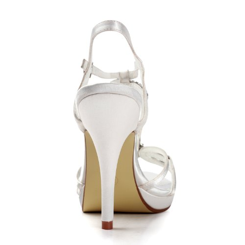 Minitoo ,  Damen Knöchel-Riemchen Weiß