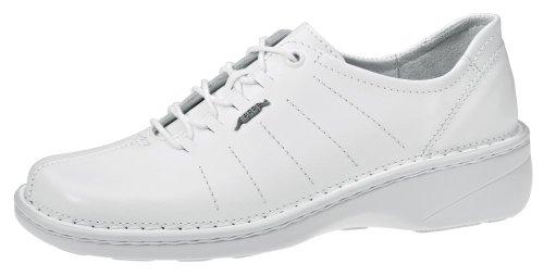 Abeba Reflexor® Schnürschuh weiß weiß