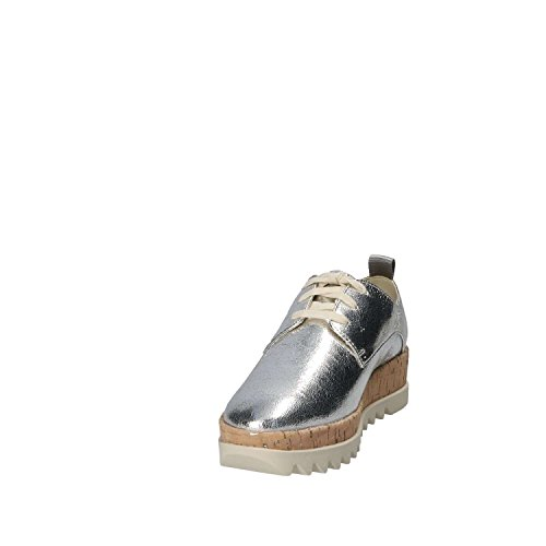 Argento Piattaforma Pizzo Scarpe Metallico Femme Bassi Da Scarpa Ginnastica I Jeans 000 Tommy argento r4fPYUcr