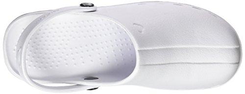Suecos® Oden, Damen Clogs & Pantoletten Weiß (White)