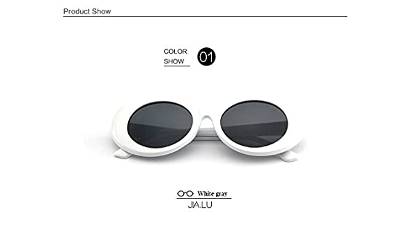 405cb54f7e0 BuyWorld New Oval Clout Goggles Sunglasses Nirvana Kurt Cobain Star Style Sunglasses  Men Women Retro Female Male Sun Glasses Shades UV400  Amazon.in  Car   ...