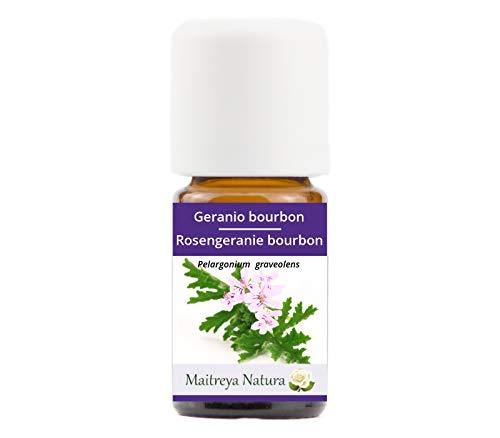 Geranio Bourbon Aceite Esencial Orgánico Bio 100%