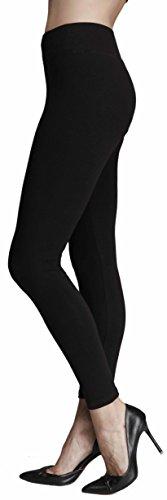 Leggings Hoher Bund Damen Mädchen Yoga Leggins Schwarz 36 38 S M 95 98 Bio-baumwolle-yoga-hosen