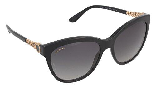 Bulgari Damen 0Bv8158 501/T3 57 Sonnenbrille, Schwarz (Black/Polargrey),