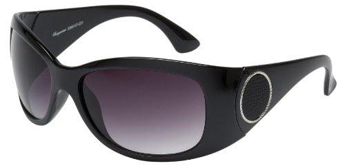 Schöne Marken Sonnenbrille für Damen von Burgmeister mit 100% UV Schutz | Sonnenbrille mit stabiler Polycarbonatfassung, hochwertigem Brillenetui, Brillenbeutel und 2 Jahren Garantie | SBM107-231