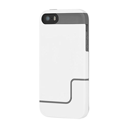 Incipio iPhone 5/5S EDGE PRO - White / Charcoal Incipio Edge Pro Iphone