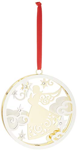 Lenox Stamped Angel Ornament