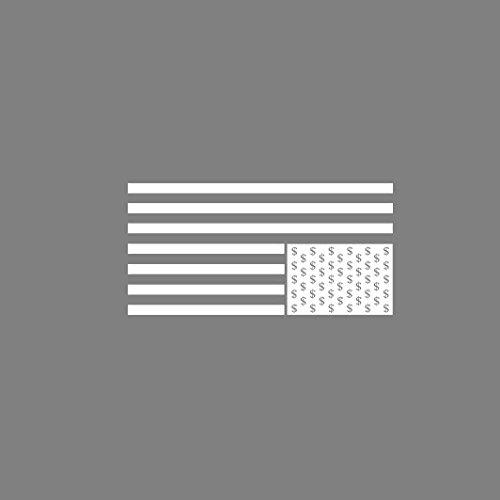 Card House Dollar Flag - Stofftasche / Beutel Braun