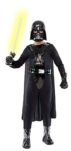 Costume di carnevale da signore oscuro vestito per ragazzo bambino 7-10 anni travestimento veneziano halloween cosplay festa party 52393 taglia 10/xl