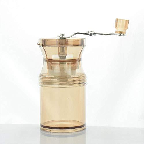 DuDuDu Moulin à café en Grains Manuel brossé INOX poignée Plastique respectueux de l'Environnement