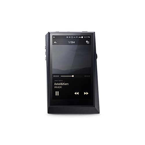 "Astell & Kern AK 300"" Audiophiler Hires MP3-Player mit WI-Fi und Bluetooth aptX HD schwarz"