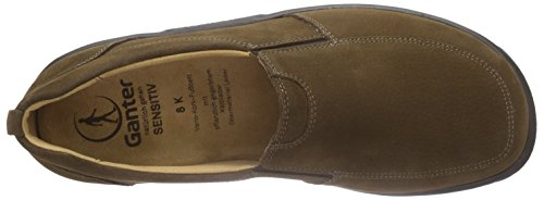 Ganter Sensitiv Kurt, Weite K Herren Slipper Braun (mocca 2900)