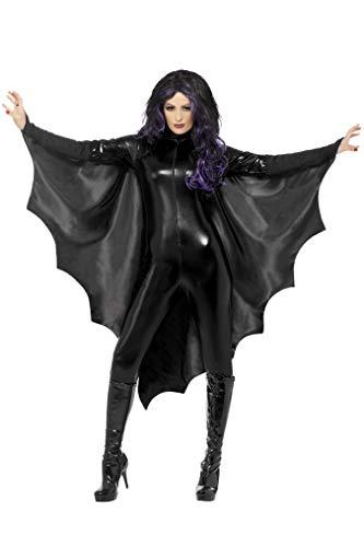 Maske Kind Batman Cape Kostüm & - Smiffys 23133 Vampir-Fledermausflügel, Einheitsgröße
