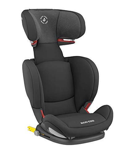 Maxi-Cosi RodiFix AirProtect Child Car Seat, Isofix Booster Seat, Black, 15-36 kg Maxi-Cosi Booster car seat for children from 15-36 kg (3.5 to 12 years) Grows along with your child thanks to the easy headrest and backrest adjustment from the top Patented air protect technology for extra protection of child's head 2