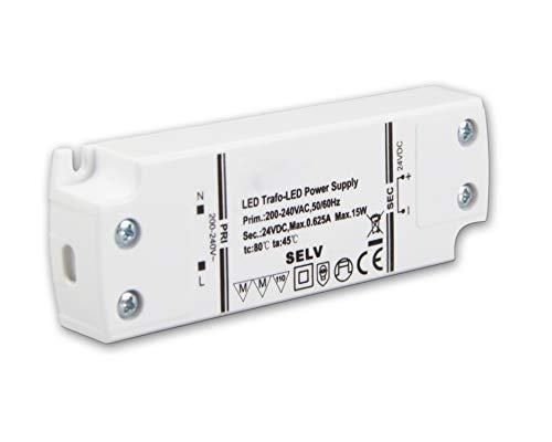 LED Treiber/LED Trafo 12V/DC, 0-30W, TÜV, für Möbelaufbau geeignet,ultraflach, LED Stripe tauglicher Trafo von Isolicht