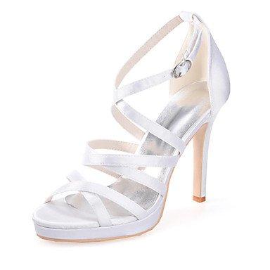 RTRY Scarpe Donna Seta Stiletto Heel Punta Aperta Sandali Matrimoni/Parte &Amp; Sera Più Colori Disponibili US9.5-10 / EU41 / UK7.5-8 / CN42