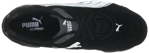 Puma Xenon Suede Unisex-Erwachsene Hallenschuhe Schwarz (black-white-castlerock 04)