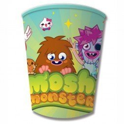 Image of MOSHI MONSTERS PARTY PAPER CUPS PK OF 8