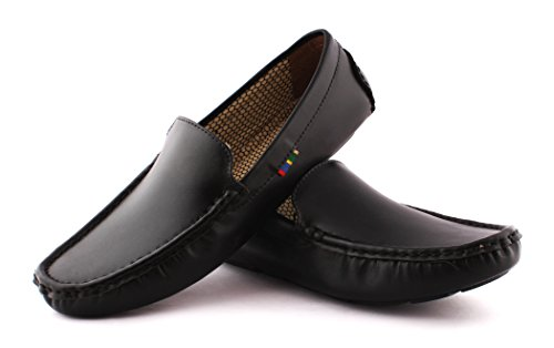 Lego Men's Black Loafers-7