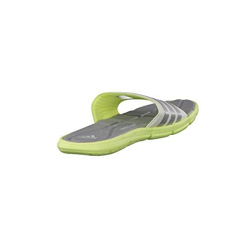 adidas PerformanceAdipure 360 Slide - Scarpe da Spiaggia e Piscina Donna Multicolore (Blanco / Amarillo / Plata (Amdecl / Grpumg / Cermet))