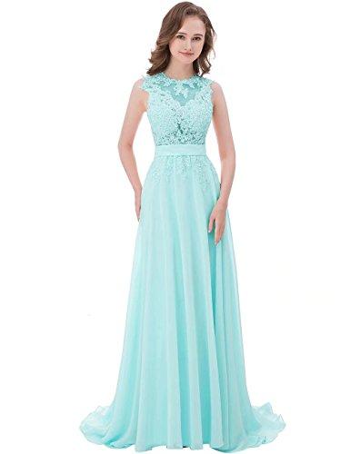 NaXY -  Vestito - Linea ad a - Donna Tiffany Blue 40